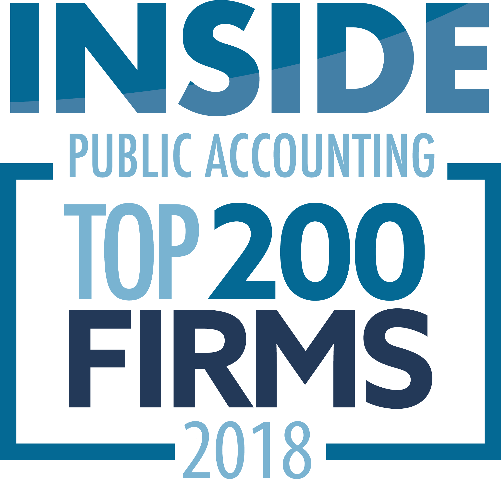 Congratulations to the 2018 IPA 200 and 300 Firms