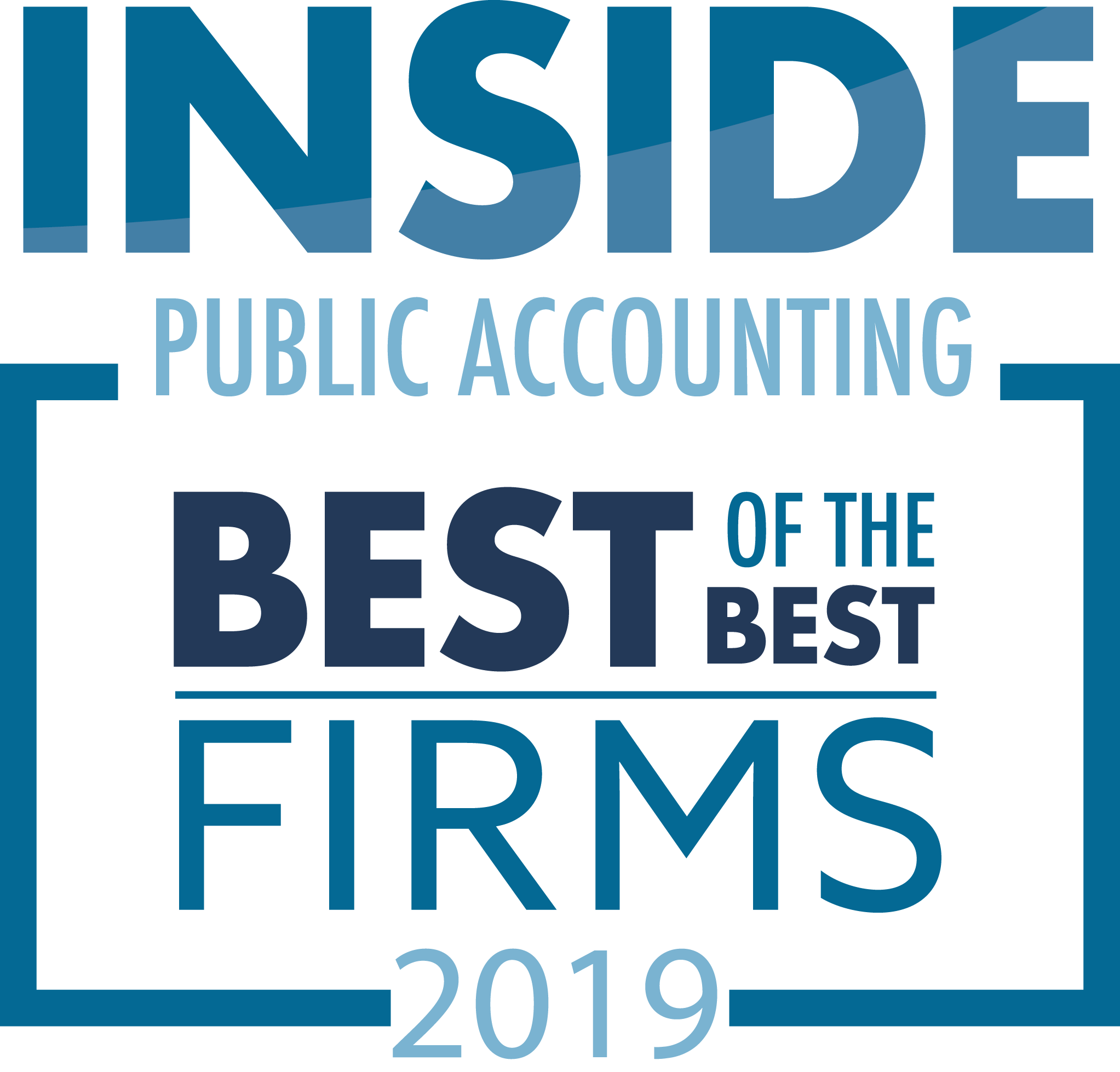 INSIDE Public Accounting Unveils The 2019 Best of the Best Accounting Firms