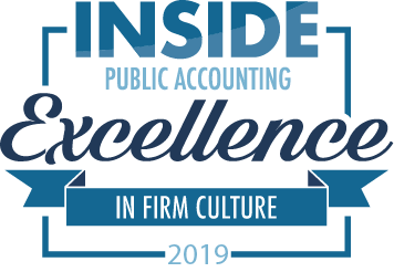 INSIDE Public Accounting Names The 2019 Excellence in Firm Culture Winners