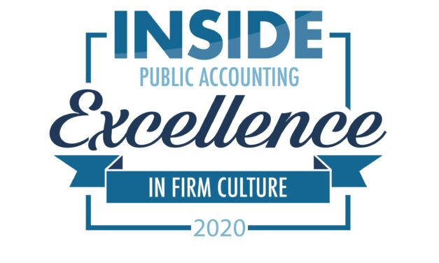 INSIDE Public Accounting Names The 2020 Excellence in Firm Culture Winners